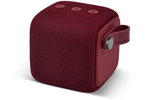 Fresh 'n Rebel Rockbox Bold S Ruby Red | Wasserdichter IPX7 Bluetooth Lautsprecher Ruby Red Anker