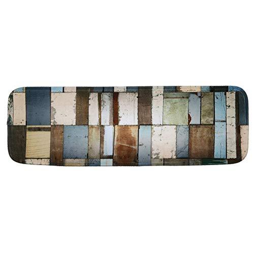 TSTLCLLMZ 5-teiliges Set Teppich-Treppenstufenmatten, rutschfeste, passende Läufer erhältlich (22 x 70 cm),5Pcs