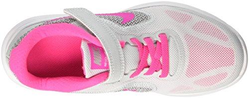 Nike Mädchen Revolution 3 (Psv) Sneaker Elfenbein (Pure Gris Platinum/pink Blast-wolf Grey-white)