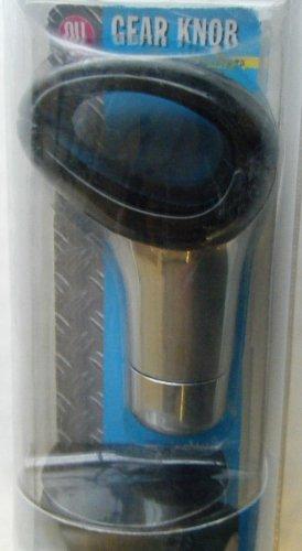 Pommeau de levier de vitesse Noir chromé avec adaptateurs Pas soulever uo MARCHE ARRIERE