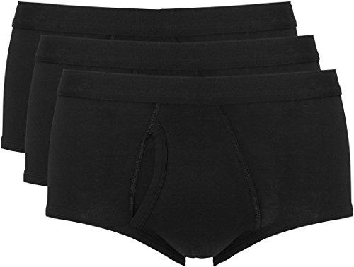 Ten Cate Slip Classic Brief Herren 3-Pack Basic Cotton (3400-090) - Schwarz - XXL