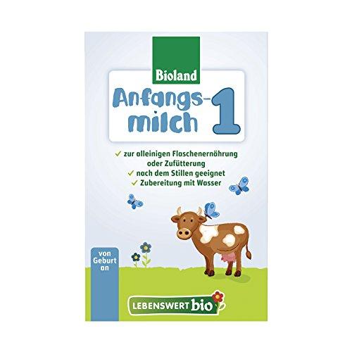 Lebenswert bio Anfangsmilch 1, 5er Pack (5 x 500 g)