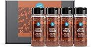 Amazon-Marke: Happy Belly - Zimt, gemahlen, 4x30 g