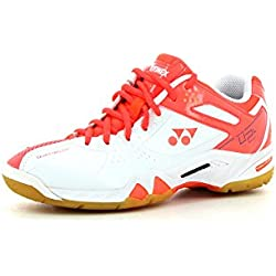 YONEX SHB 02lx Damen Pumps Coral Orange 2015 Größe 3,5