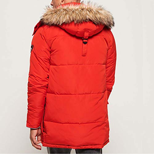 Superdry SD Expedition Parka Herren rot - XL -
