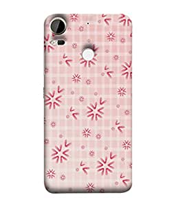 PrintVisa Designer Back Case Cover for HTC Desire 10 Pro (Beautiful Printed Checks Wall Paper Poster)