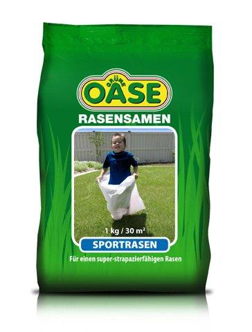 Grüne Oase Sportrasen Rasensamen 2,5 kg für ca. 75 m²