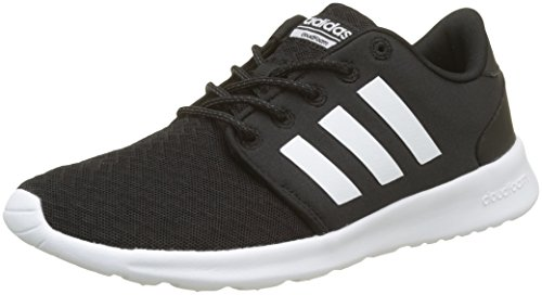 buy popular b746c 0f29c adidas Womens Qt Racer Running Shoes, Core BlackFTWR WhiteCarbon S18,