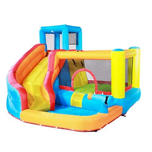 XGYUII Kids Hüpfburg Indoor Kleine Doktor Delfine Slide Home Großes Spielzeug Outdoor Freches Trampolin Männliche Und Weibliche Sommerspielzeug Disney
