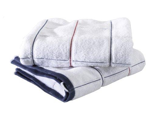 Buscher 20175-100 Set 2 teli doccia di cotone, in tessuto