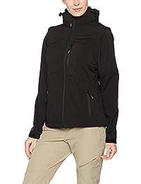 Softshell-Jacke Funktions-Weste für Damen von Fifty Five - Whistler - mit FIVE-TEX Membrane für Outdoor-Bekleidung
