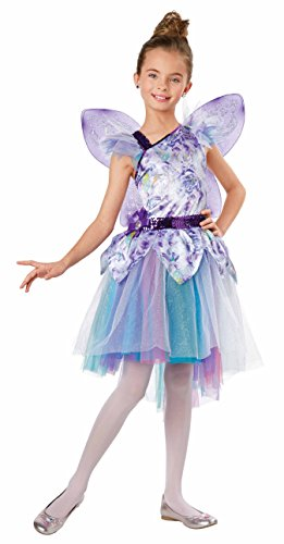 Fairy Garten Prinzessin Kostüm - Seasons Jahreszeiten Flower Fairy Dress Up Kostüm, Medium (8-10)