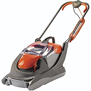 flymo ftl330 turbo lite electric hover lawnmower orange diy tools. Black Bedroom Furniture Sets. Home Design Ideas
