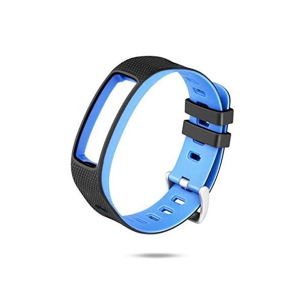 WADEO Impermeable Bluetooth Fitness Tracker Pulsera Reloj Pulsera Inteligente Banda de Repuesto Ajustable Sport… 6