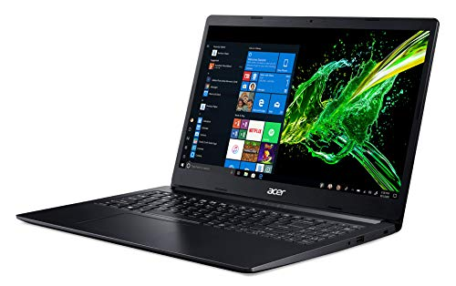 Acer Aspire 3 Thin A315-22 15.6-inch Laptop (A4-9120e/4GB/1TB HDD/Windows 10/AMD Radeon R4 Graphics), Charcoal Black Image 2