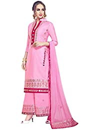 9cbff7366 Indian Pakistani Designer Ethnic Cotton Anarkali Salwar Kameez Un-Sttiched  A1571