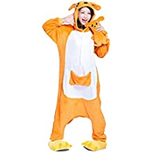 Molly Kigurumi Pijamas Traje Disfraz Animal Adulto Animal Pyjamas Cosplay Homewear Kangaroo S