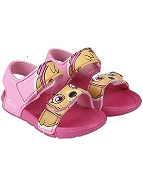 Patrulla Canina Skye - Sandalias de Piscina o Playa EVA Color Rosa + Regalo - Paw Patrol Girls Sandal (Tallan...