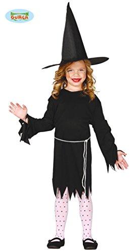 Kleine Hexe Kinder Kostüm 110 - 146, (Hex Mädchen Kostüm)