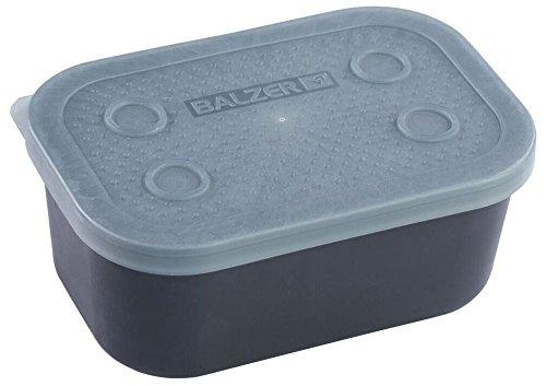 Balzer Madenbox - Köderbox für Maden & Würmer, Angelbox für Köder, Box für Angelköder, Köderbehälter zum Friedfischangeln, Ausführung:0.6 Liter / 15x10x6cm