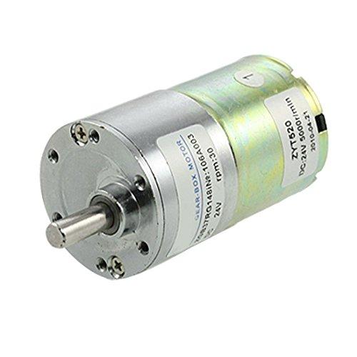 DC 24V 0.33A 30rpm 6mm Durchmesser Welle Geschwindigkeitsreduzierung Getriebe Motor