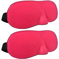 SAVORLIVING Schlafmaske (2 Stück) 3D Augenmaske Atmungsaktiv Augenschutz Gemütlich Leicht Schlafmaske für Reisen... preisvergleich bei billige-tabletten.eu