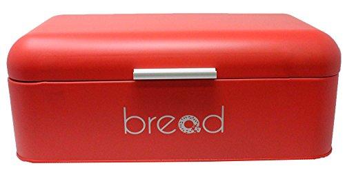 Moderna panera en diseño metalizado mate de Eliware; en varios colores, rojo
