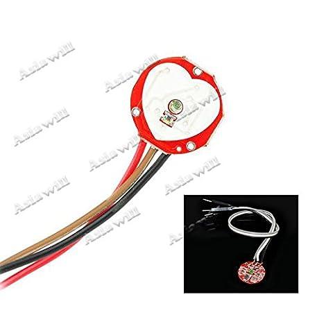 Asiawill ® Pulsesensor pouls capteur pour Arduino-Rouge