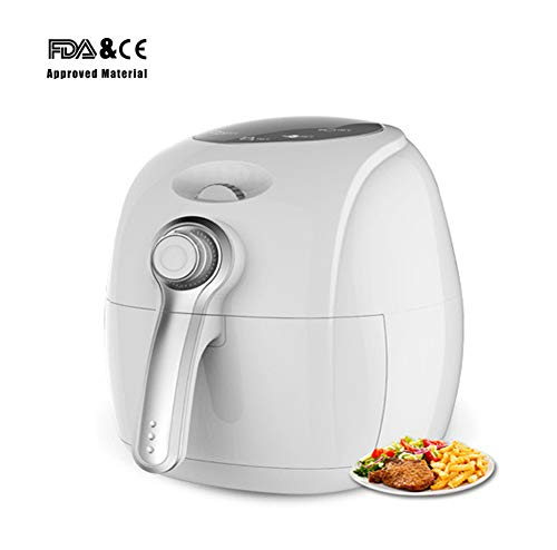 ZQword Air Fryer Oil Free Healthier Low Fat - Ricettario Incluso -...
