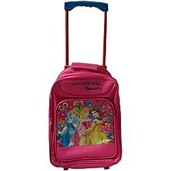 Glitter Collection (TM) School Bag ,Girls wheel Trolley school bag ROYPRB