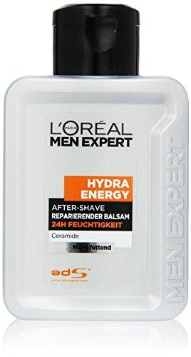 L'Oreal Men Expert After Shave Balsam, 24H Feuchtigkeit, repariert und bekämpft Rasurbrand, Rötungen und Irritationen, 100 ml