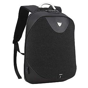 Mochila Portátil para Hombres – Arctic Hunter Mochila Antirrobo Impermeable para Portátil Multiusos Daypacks con Puerto de Carga USB