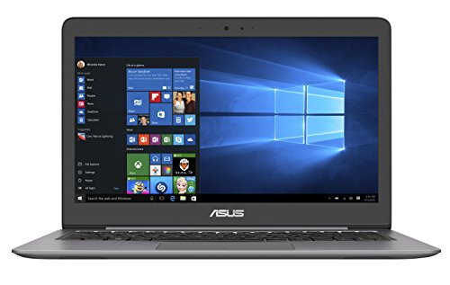 ASUS Zenbook UX310UA 13.3 inch Notebook (Intel Core i3-6100U 2.3 GHz, 4 GB RAM, 128 GB SSD, Windows 10) - Grey