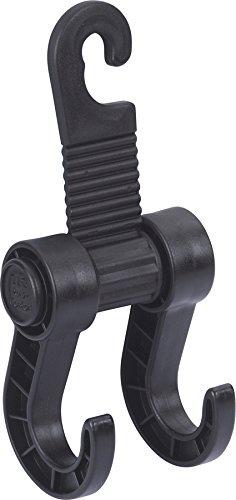 Preisvergleich Produktbild hr-imotion Tasche-/Gepackhalterung mit zwei Haken zum einhängen in die Kopfstütze [Made in Germany] - 10610001