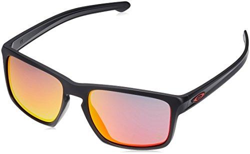Oakley Herren 0Oo Catalyst 927207 56 Sonnenbrille, Schwarz (Matte Black/Rubyiridium),