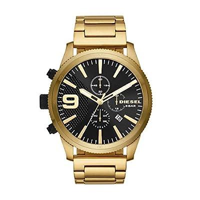 Diesel Reloj Cronógrafo para Hombre de Cuarzo con Correa en Acero Inoxidable DZ4488