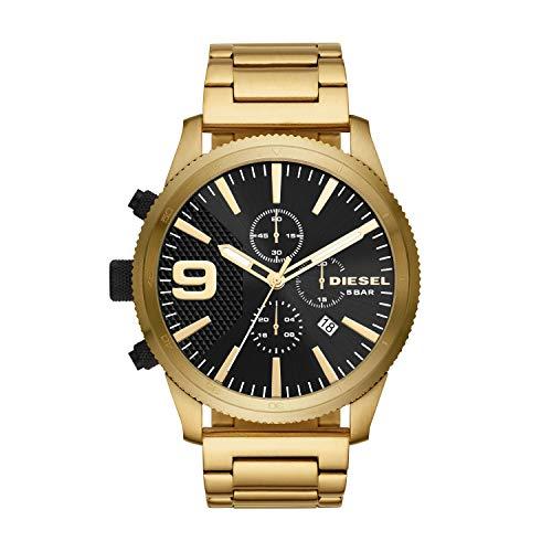 7f9a03a877eb Diesel Reloj Cronógrafo para Hombre de Cuarzo con Correa en Acero Inoxidable  DZ4488