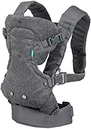 Infantino Flip Advanced 4-In-1 Convertible Baby Carrier, 0+ Months