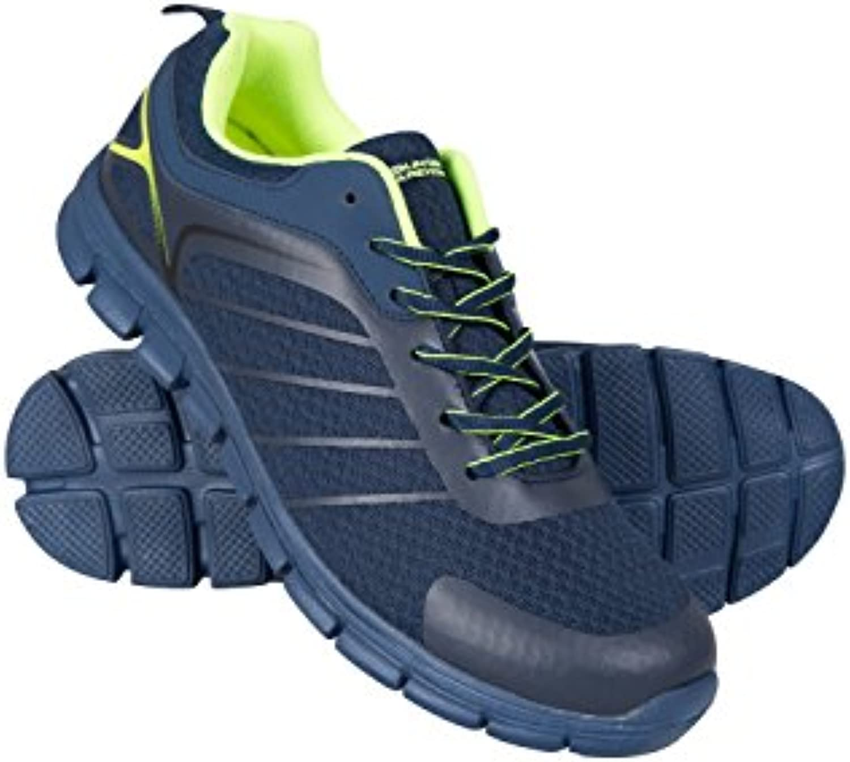 Mountain Warehouse Boost Sneaker fuumlr Herren   Strapazierfähige Wanderschuhe  Lässig  Atmungsaktiv  Laufschuhe