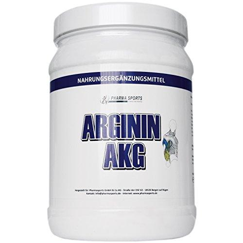 100% AAKG Powder - 500g reines Arginin AKG - Pures Arginin Alpha Ketoglutarat Pulver - Aakg Pulver