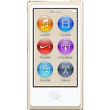 Apple iPod nano 16GB MP4 16GB Oro - Reproductor MP3 (Reproductor de MP4, Oro, Digital, Aluminio, Flash-media, 16 GB)