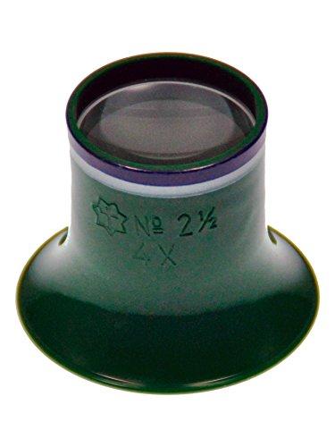 Sternkreuz Uhrmacherlupe 4-Fach Lupe Juwelier Okular Made in Germany 312.SK25