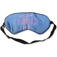 Crazy Flamingo Lady 99% Eyeshade Blinders Sleeping Eye Patch Eye Mask Blindfold For Travel Insomnia Meditation preisvergleich bei billige-tabletten.eu