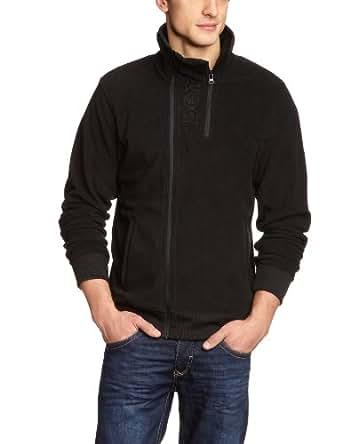 Bench Herren Sweatshirt Fleecejacke Handray schwarz (black) X-Large