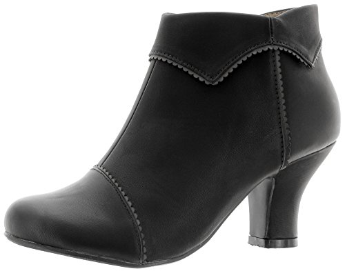 Banned Ankle Boots RUTH BND050 Black