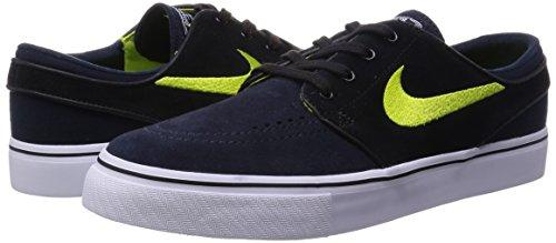 Nike  333824 026, Sneakers homme Noir / blanc (obsidienne foncée / cyber - noir - blanc)