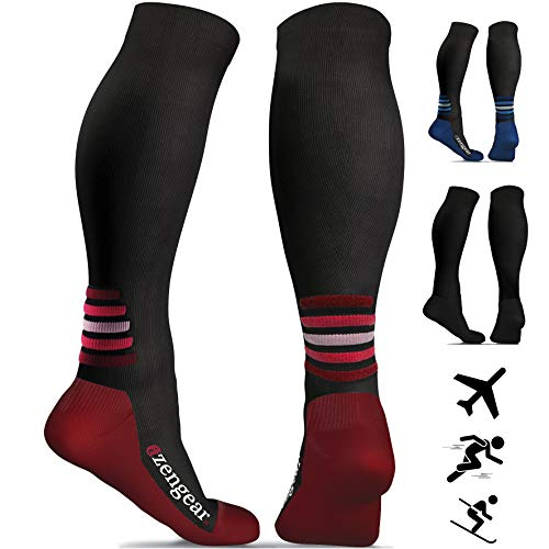Obliging Hot Sale Men Breathable Ball Games Socks Women Leg Support Compression Socks Stretch And To Have A Long Life. Underwear & Sleepwears