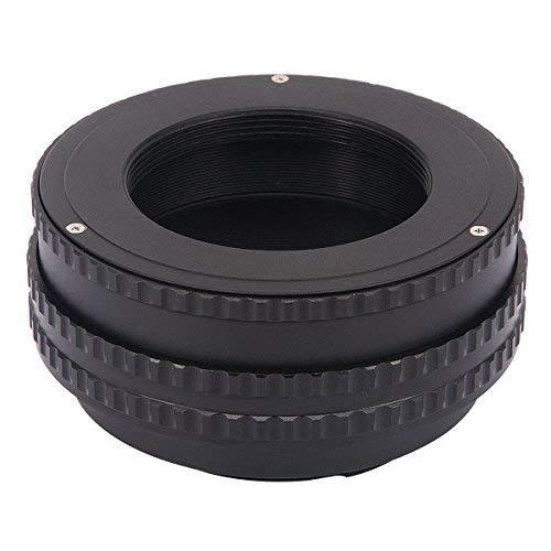 haoge Macro Focus Objektiv Mount Adapter integrierten Focusing Helicoid für M4242mm Screw Mount Lens to Sony E-Mount NEX Kamera 17mm-31mm -