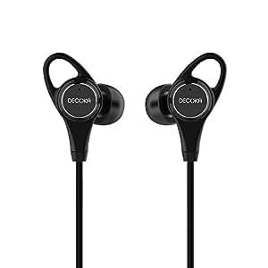 Auricolari In-Ear DECOKA DK100 Con Cancellazione Attiva Del Rumore (ANC), Microfono Integrato, Telecomando, 20 Ore Di Autonomia, Jack 3,5mm