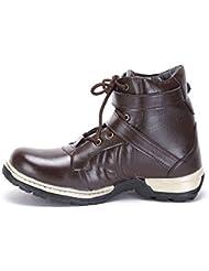 Molessi Brown Stylish Boots